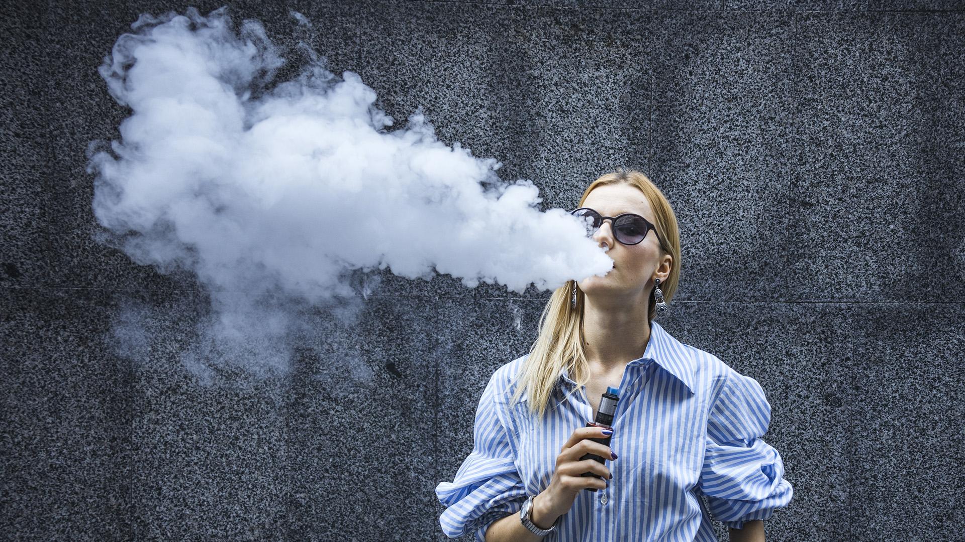 Máshogy káros az e-cigi mint a hagyományos cigaretta