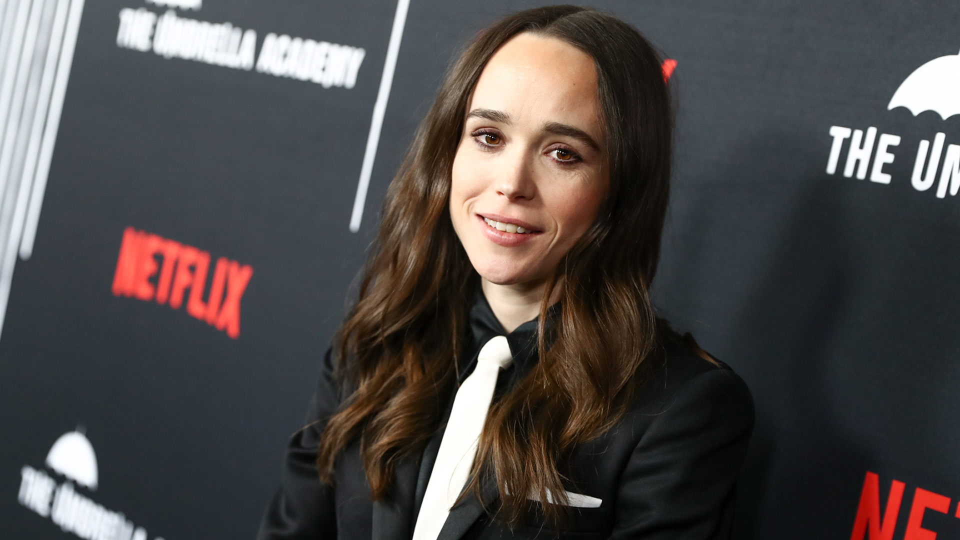 Ellen Page az Umbrella Academy bemutatóján