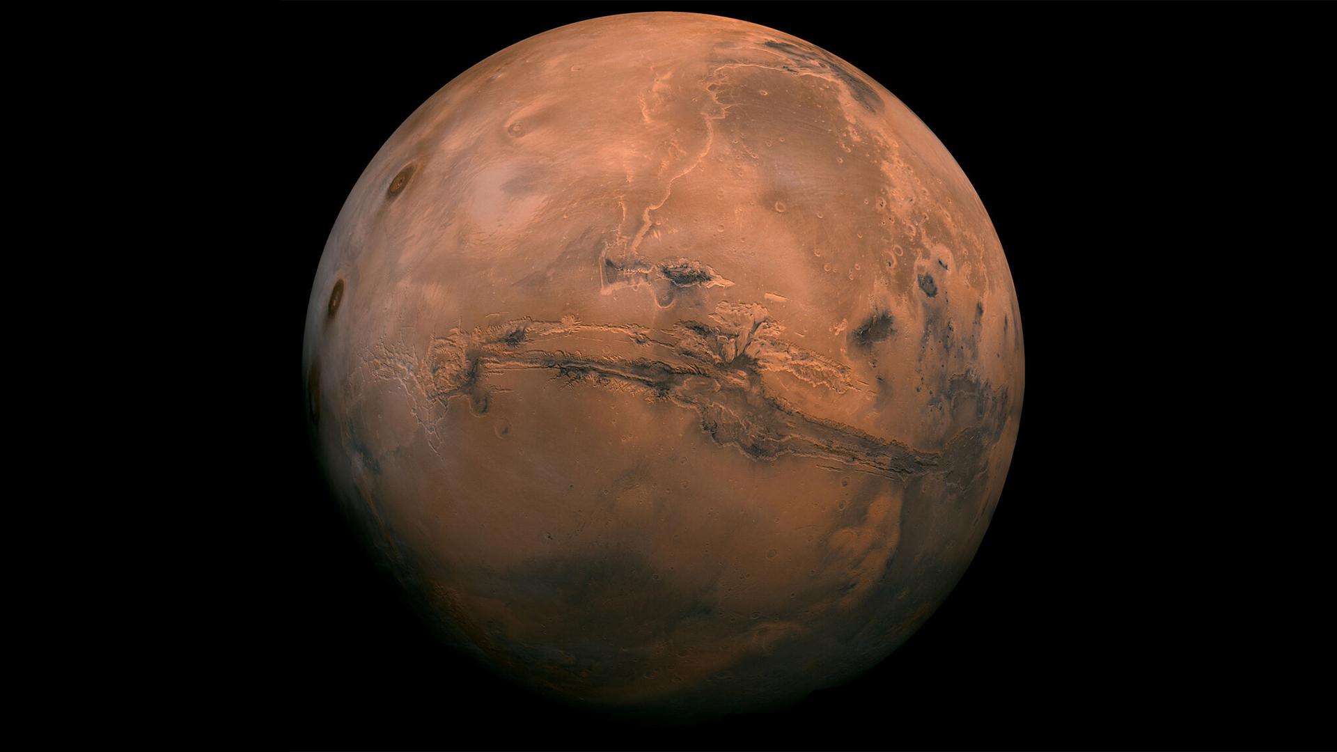 Karácsonyi angyalt fotóztak a Marson