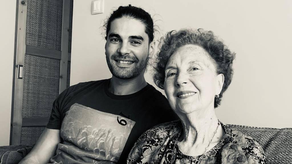 freddie és nagymamája