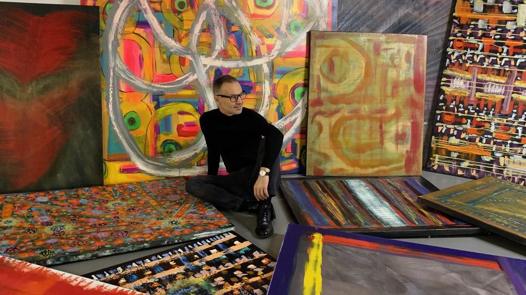 Garami Gábor rajong a festészetért