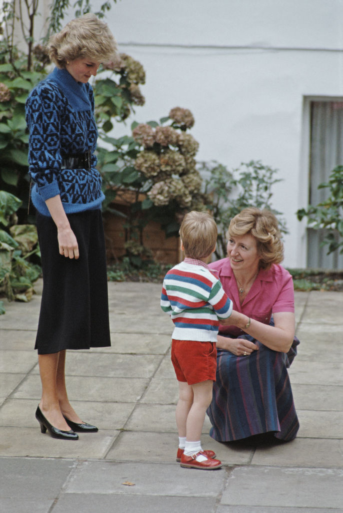 Diana hercegnő és Harry