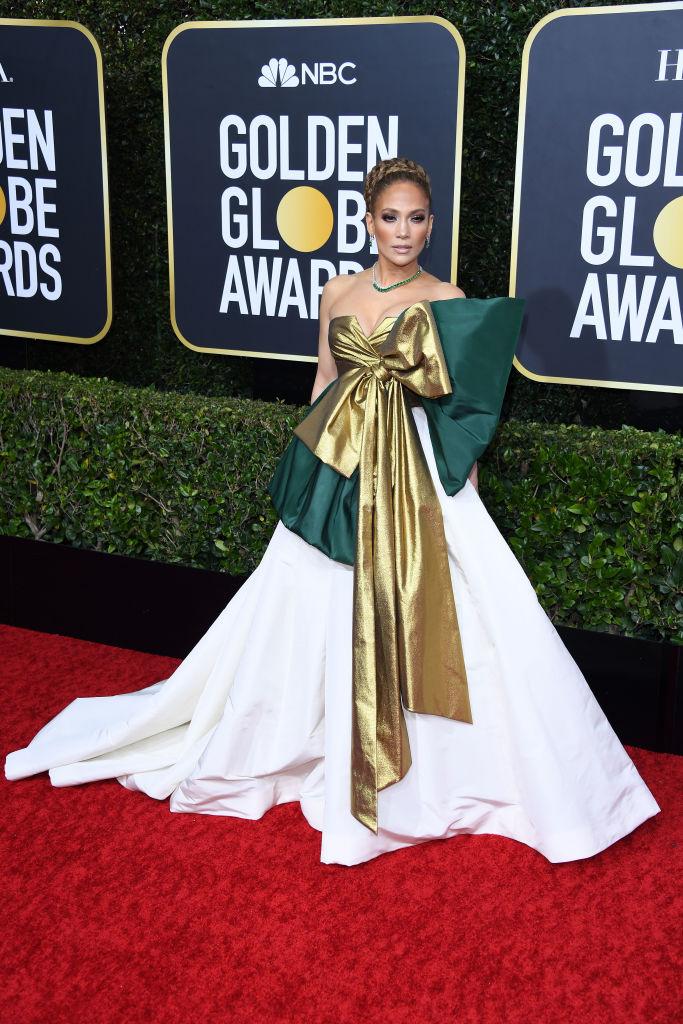 Jennifer Lopez a 2020-as Golden Globe-on