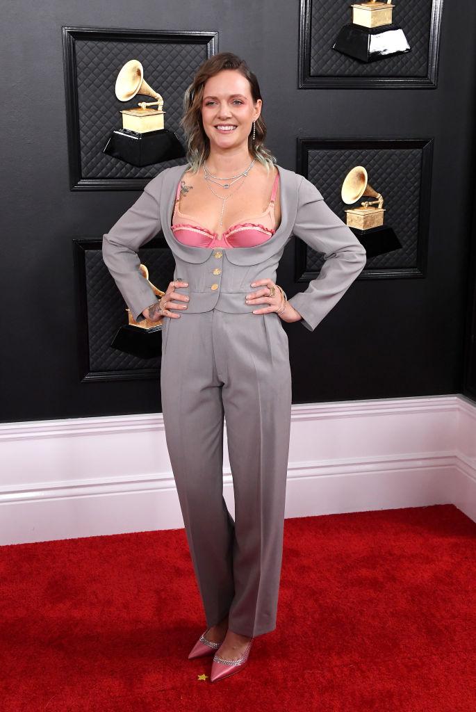 Tove Lo a Grammy-díjátadón (Fotó: Steve Granitz/WireImage)