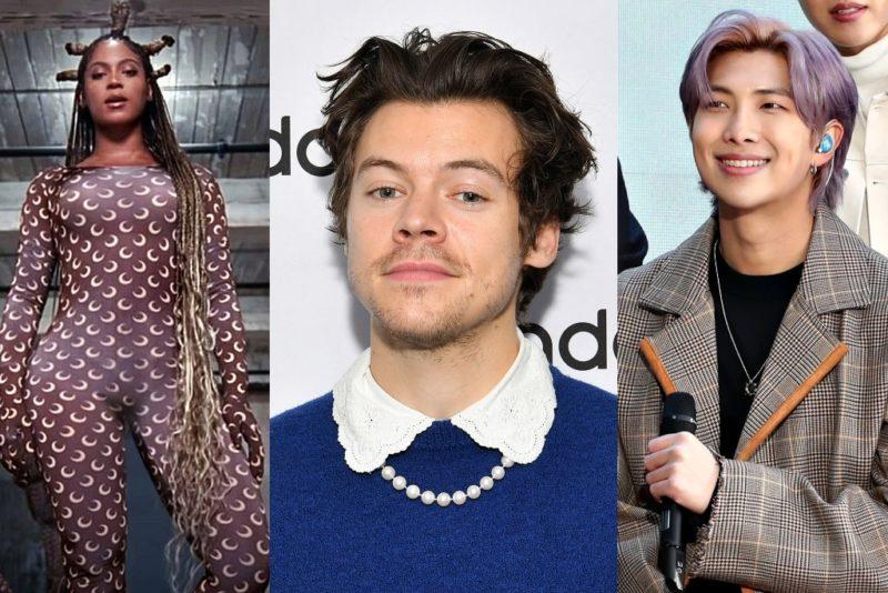 Beyoncé, Harry Styles és Kim Namjoon