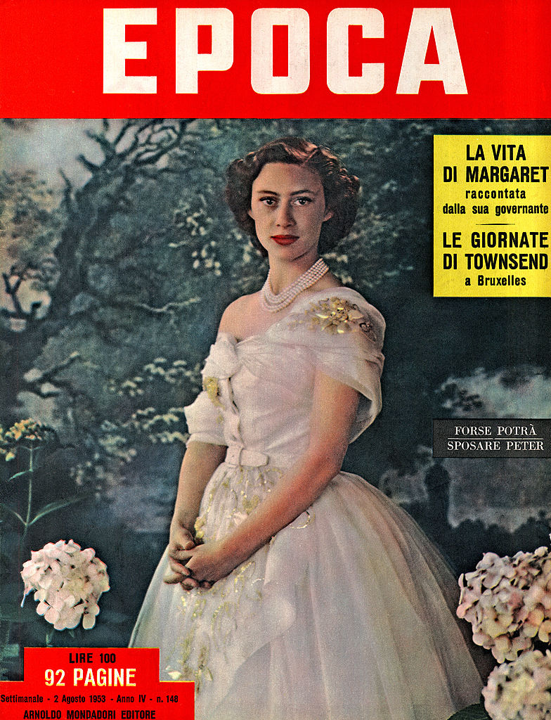 Margit hercegnő az Epoca címlapján
