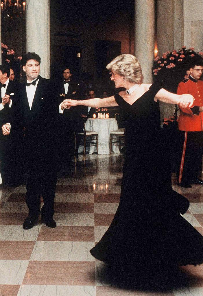 Diana hercegnő és John Travolta