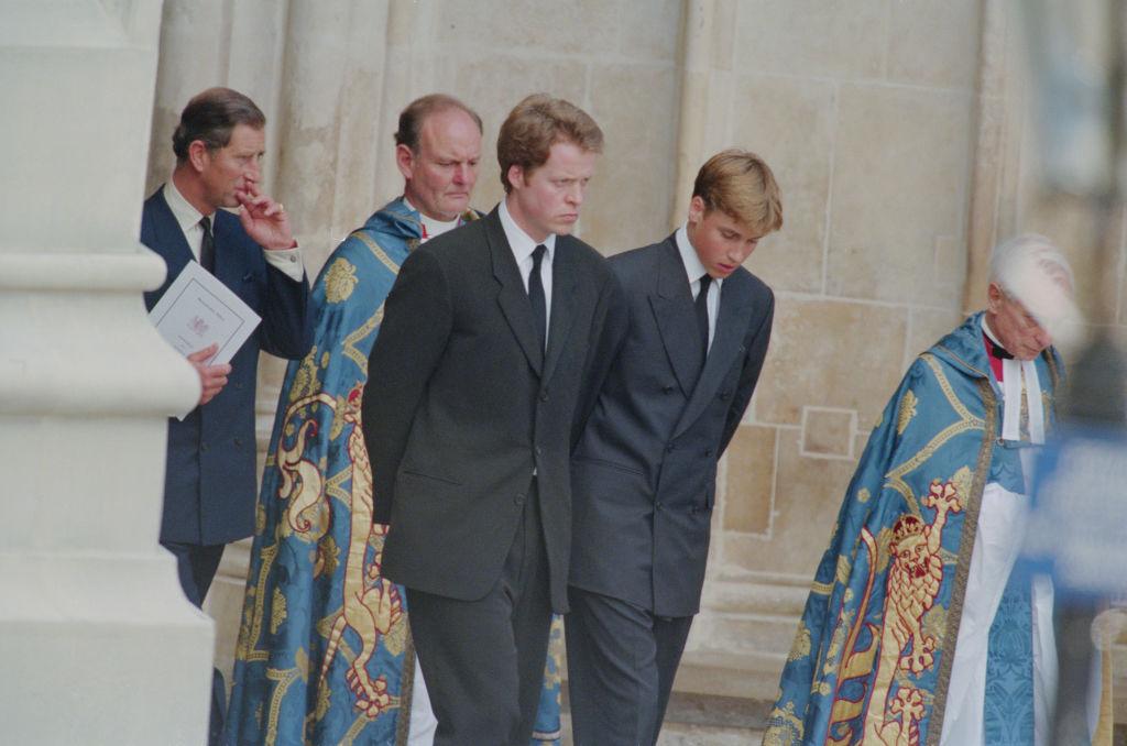Charles Diana temetésén 1997-ben