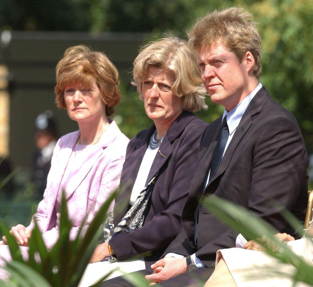 Diana herecegnő testvérei 1997-ben