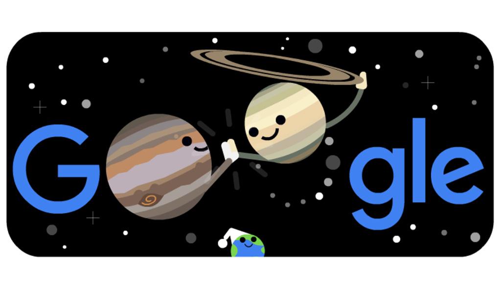Csillagászati Google Doodle
