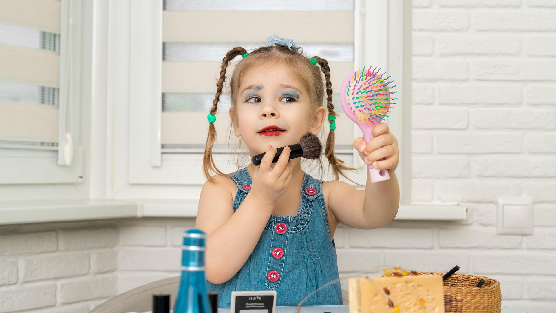 gyerek sminkkészlet sminkelés