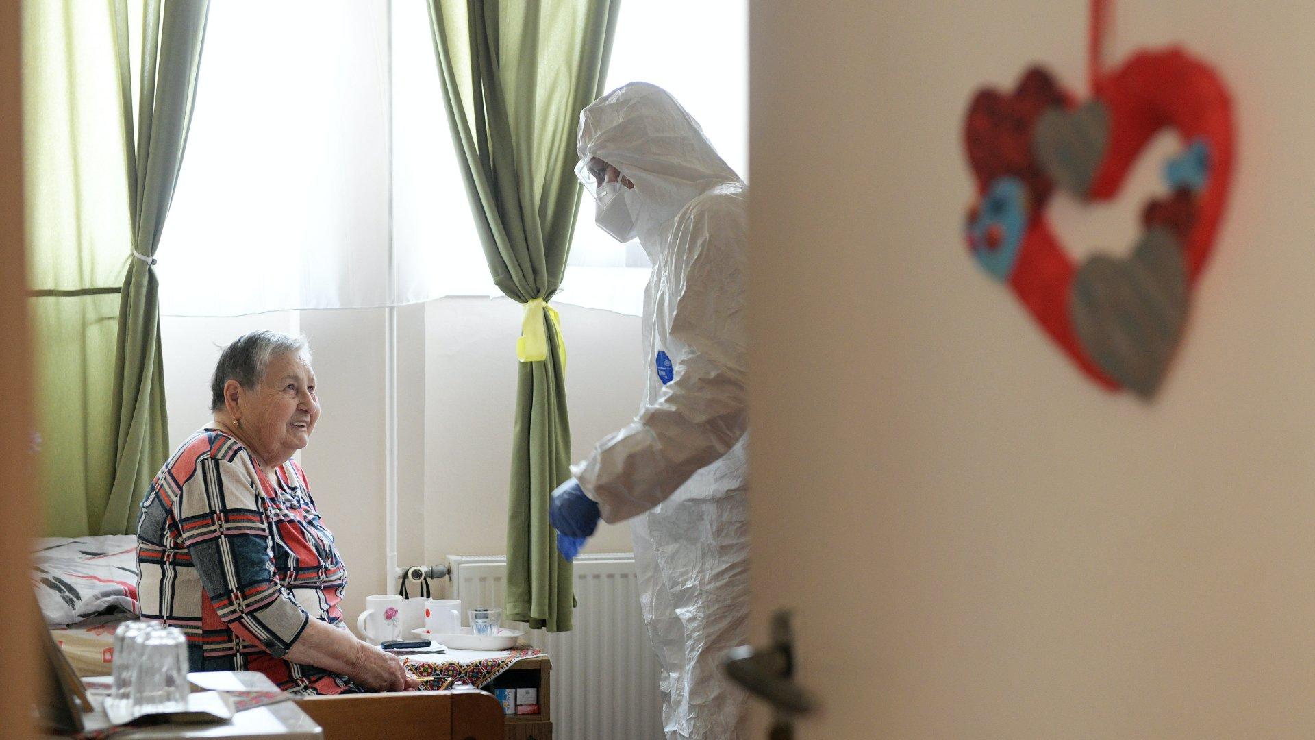 Idősotthon a koronavírus-járvány idején