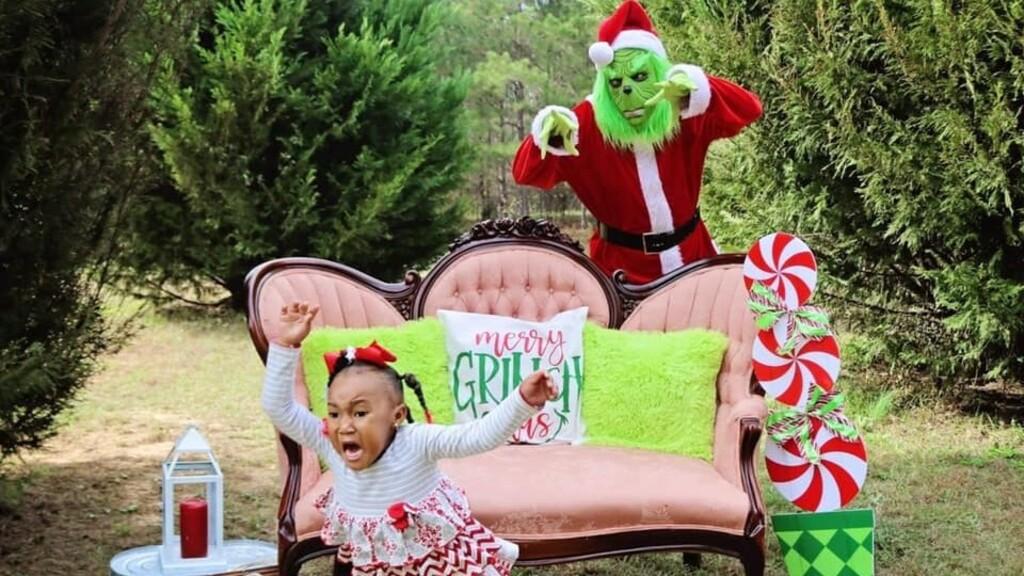 A kislány nagyon megijedt (Fotó: FB)
