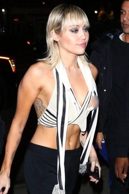 Miley Cyrus villantása