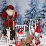 Ünnepi karácsonyi dekoráció