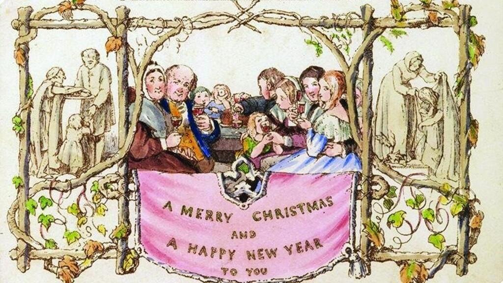 Most bárki megveheti a világ első kereskedelembe állított karácsonyi képeslapját