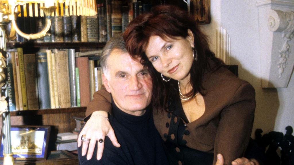 Körtvélyessy Zsolt és felesége, Egerszegi Judit