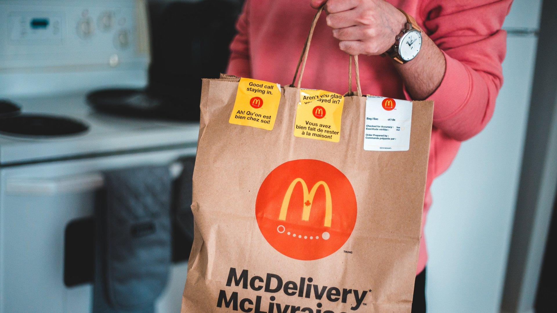 McDonald's házhozszállítás
