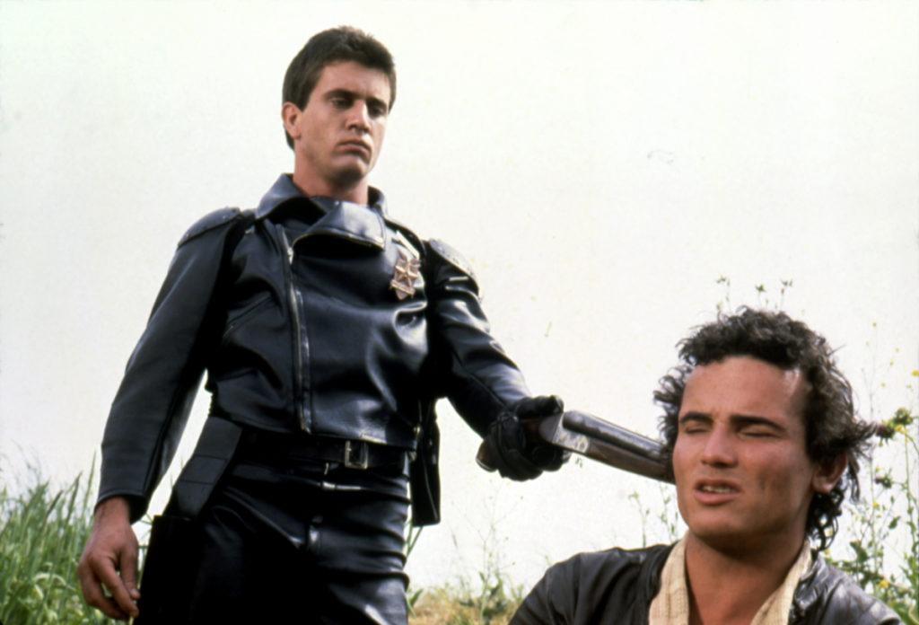 Mel Gibson és Hugh Keays-Byrne a Mad Max filmben