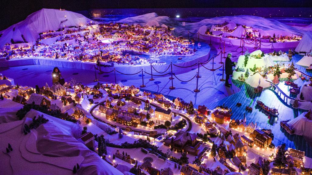 Mézeskalácsváros Norvégiában