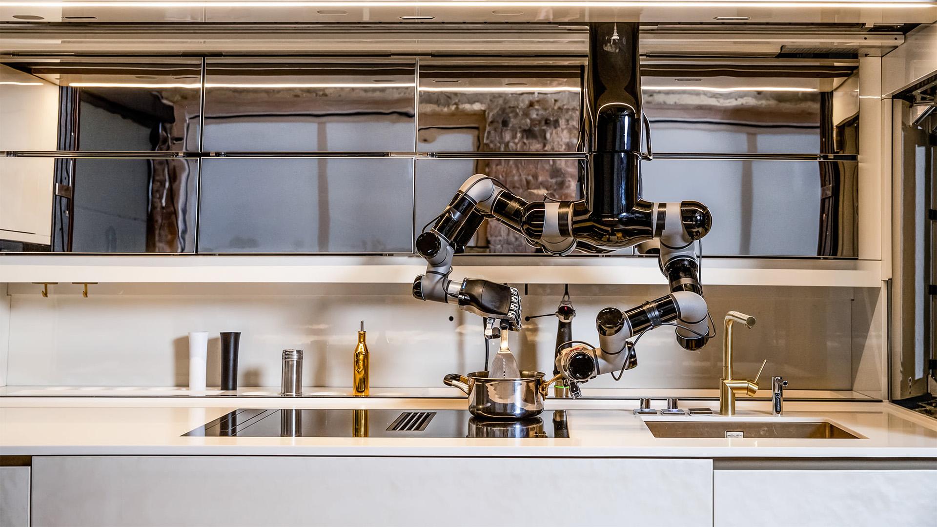 Ez a robotszakács el is mosogat maga után