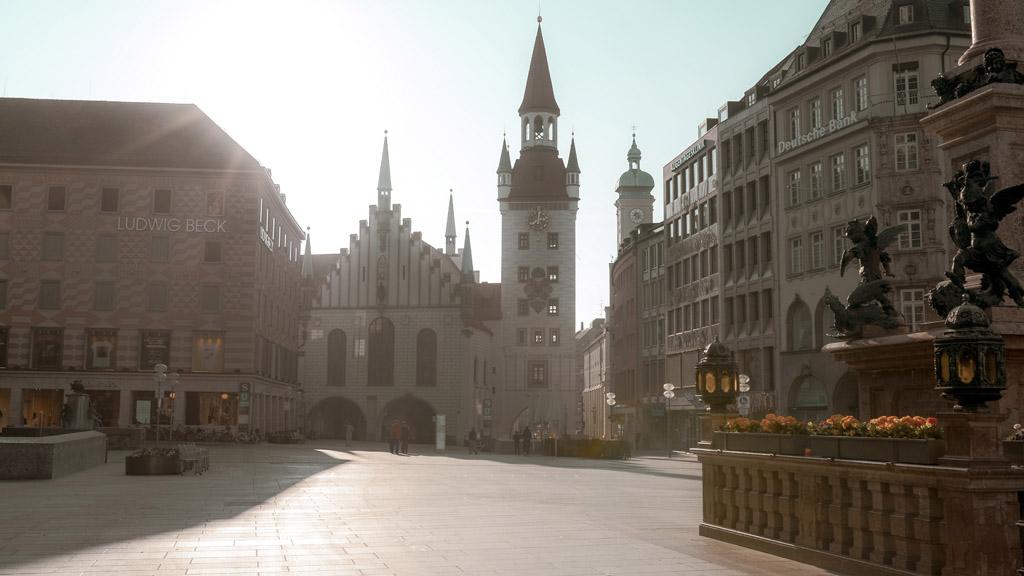 münchen utcakép