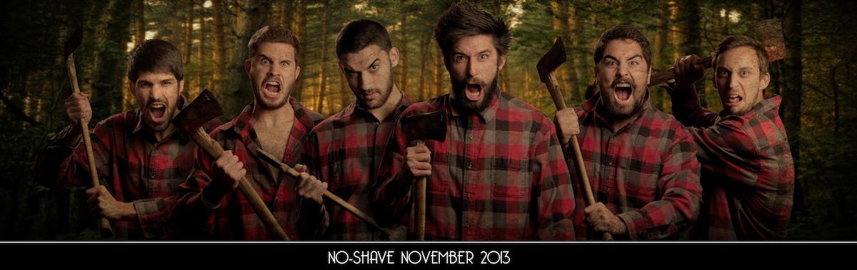 No Shave November fotózás