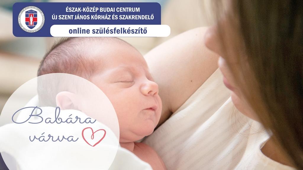 Online szülésfelkészítőt indított a János Kórház.