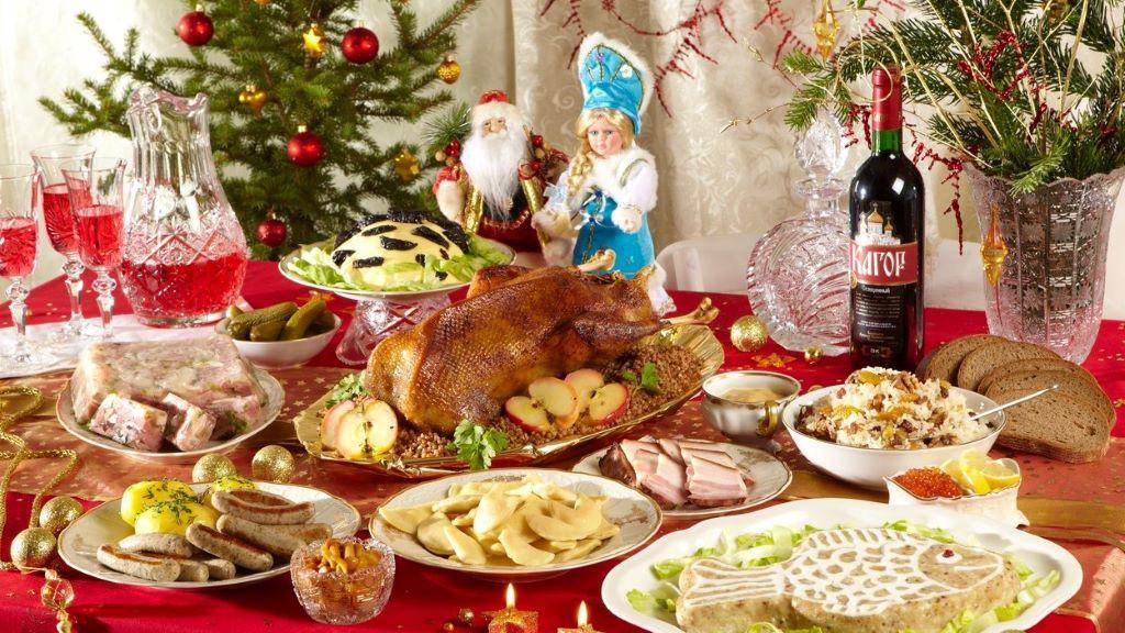 orosz karácsonyi menü