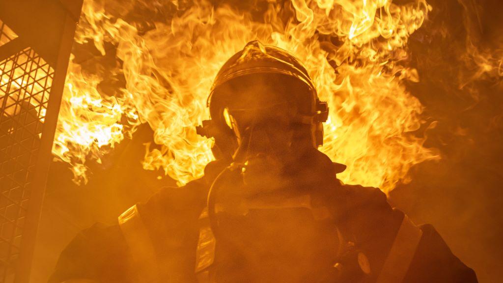 A tűzoltók karácsonyi üzenete