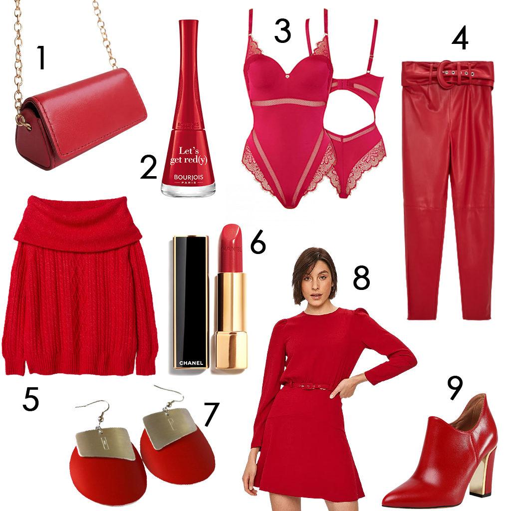 Karácsonykor is szuper választás a vörös szín