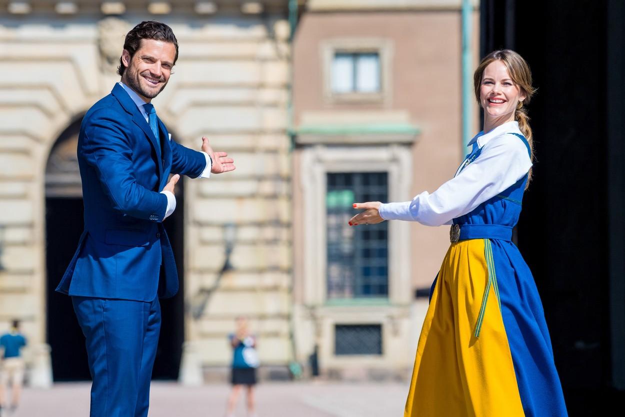 Károly Fülöp svéd herceg és Zsófia hercegné