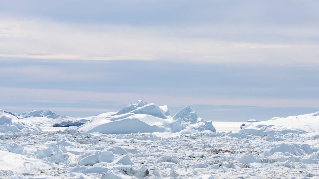 Grönlandi tájkép