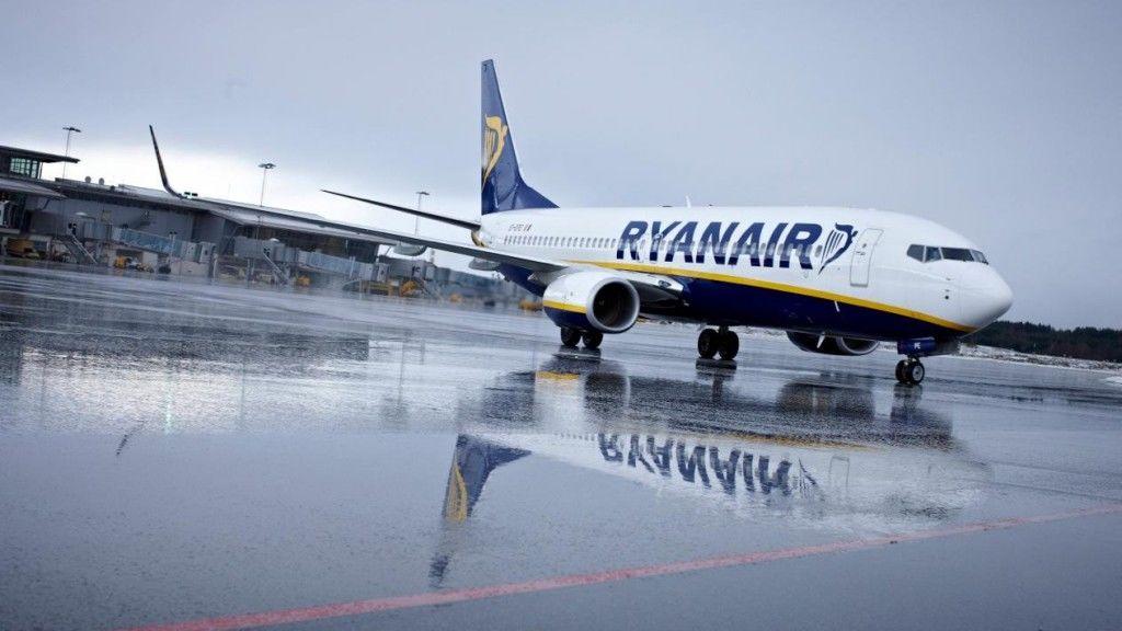 Ryanair repülőgép