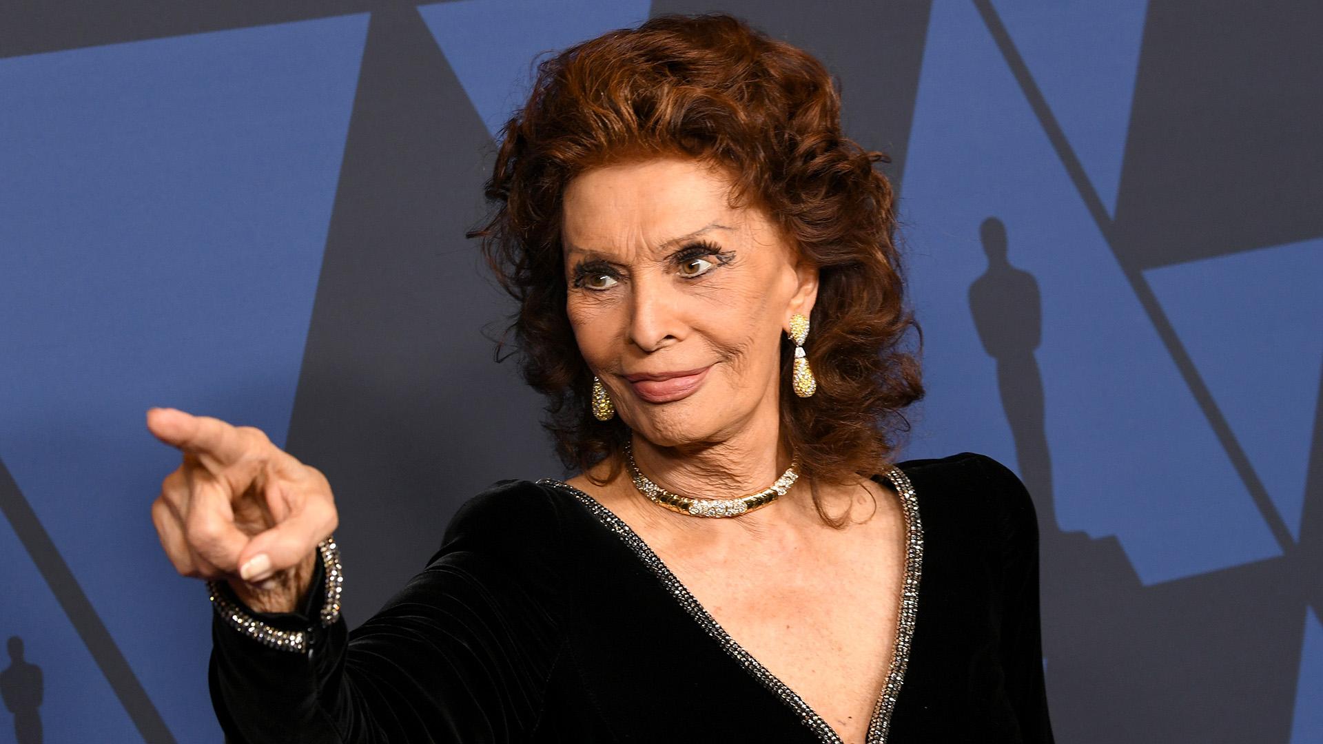 87 évesen ismét forgat Sophia Loren