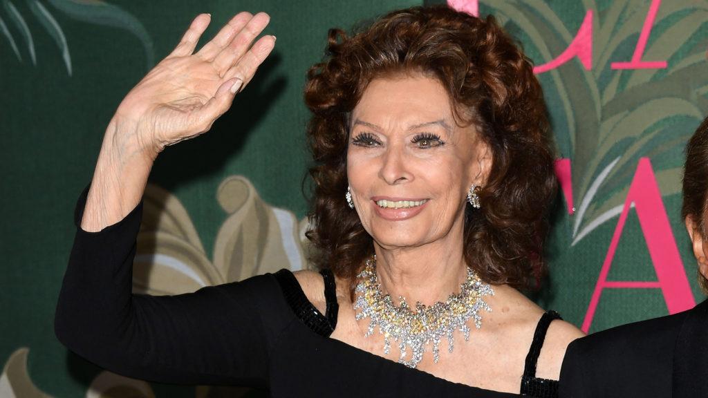 Humanitárius elismerést kap Sophia Loren