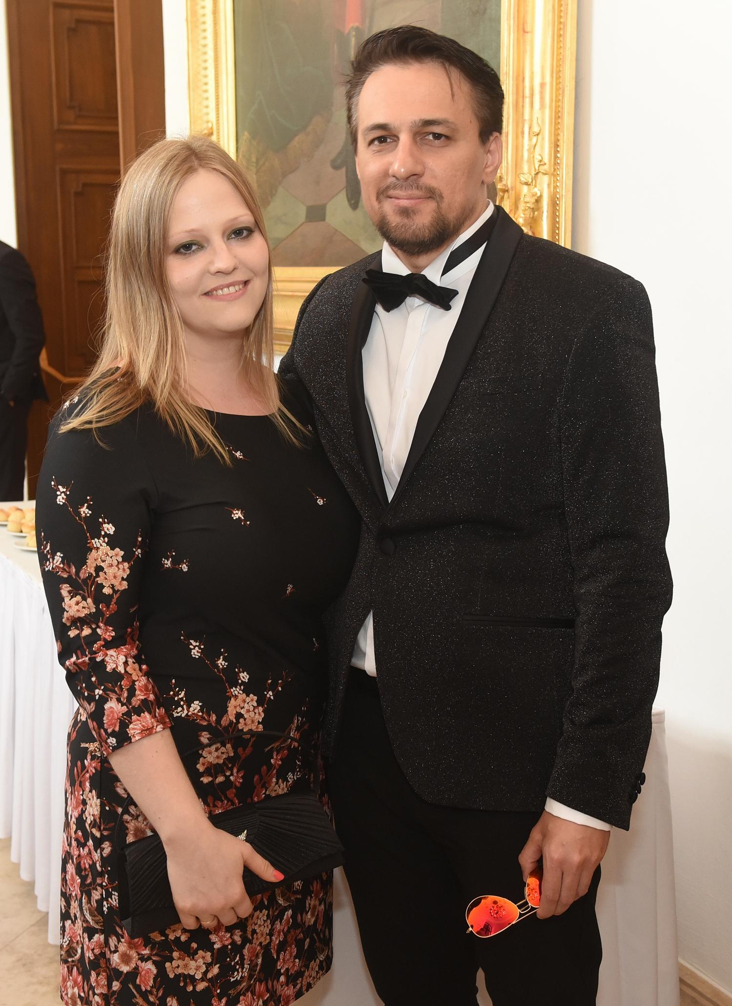 Tabáni István és felesége, Csilla