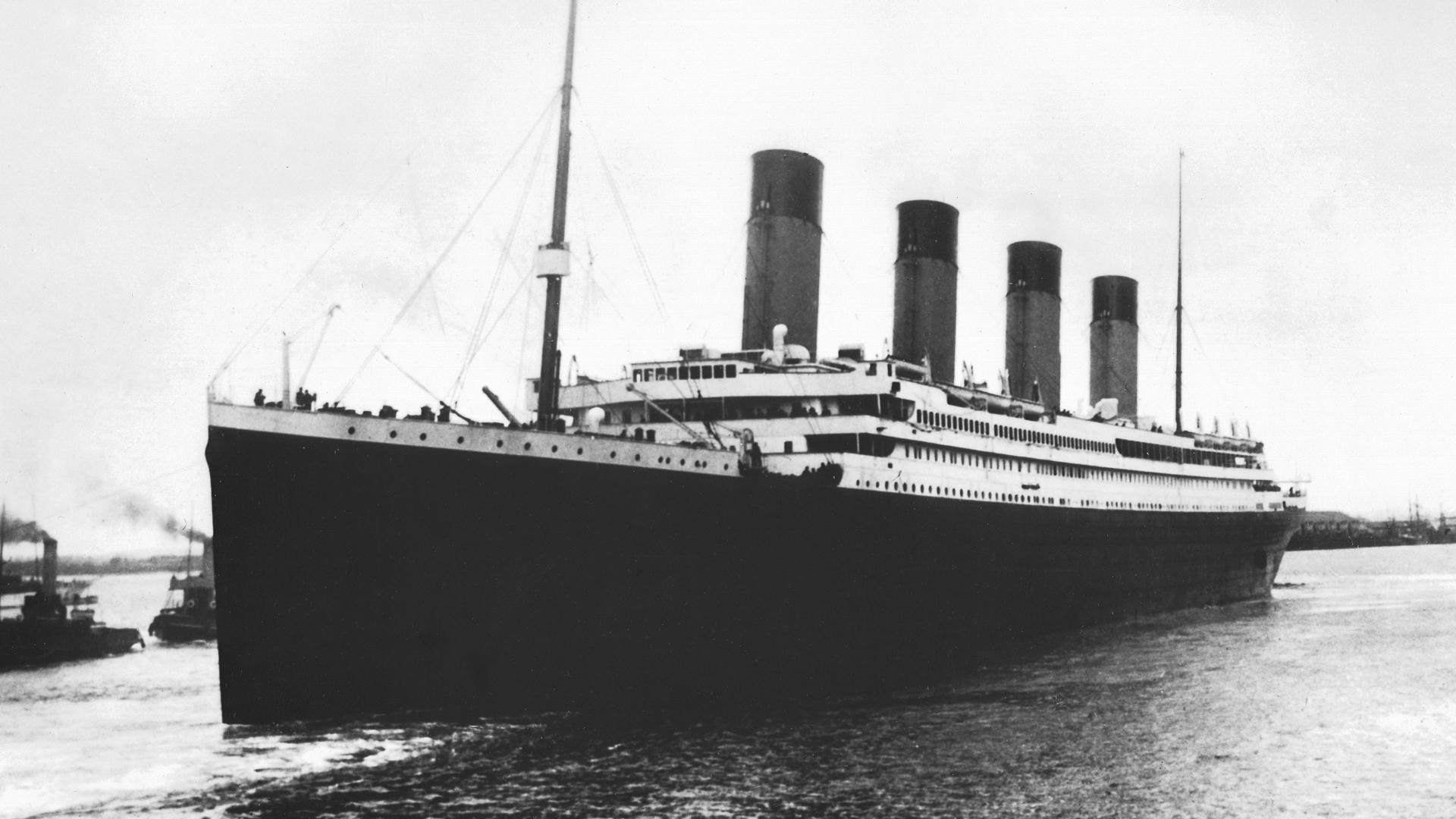 A Titanic 1912. január 29-én (Kép: SPL/Getty Images)