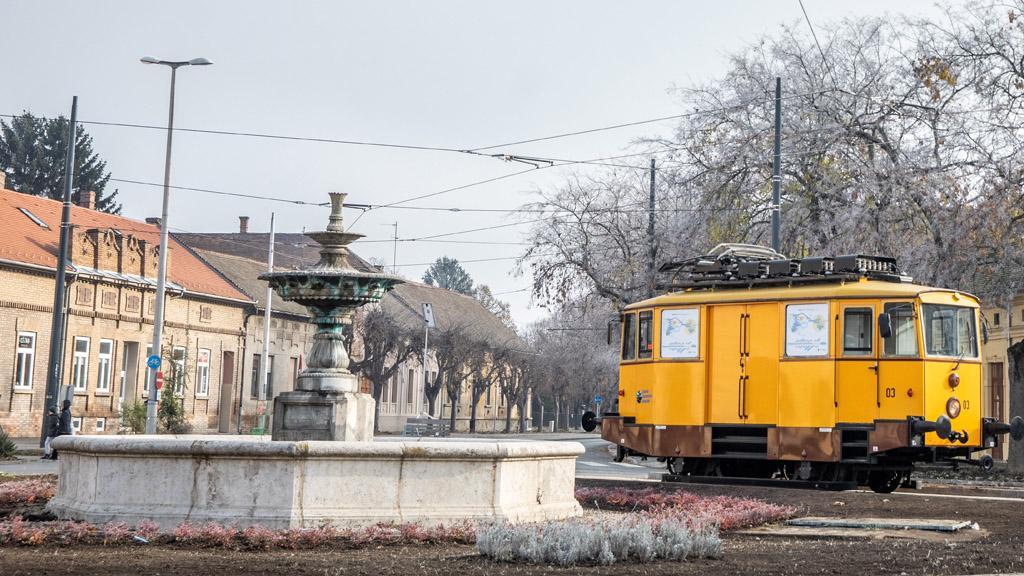 tram-train hódmezővásárhelyen