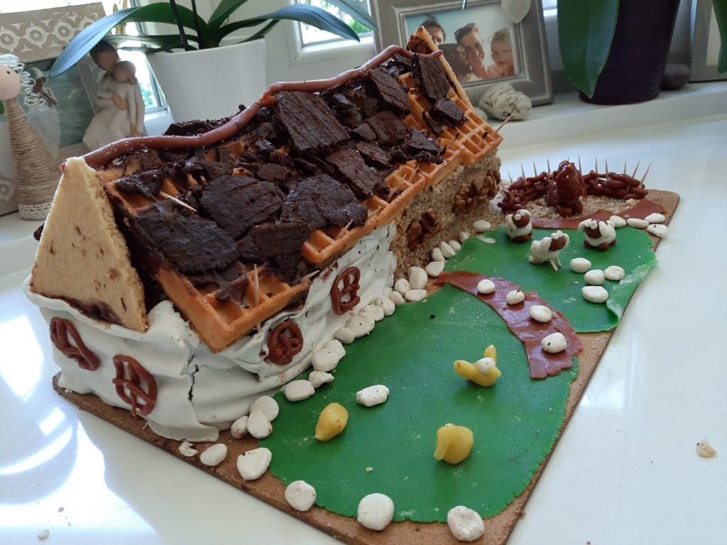 Autentikus parasztház torta