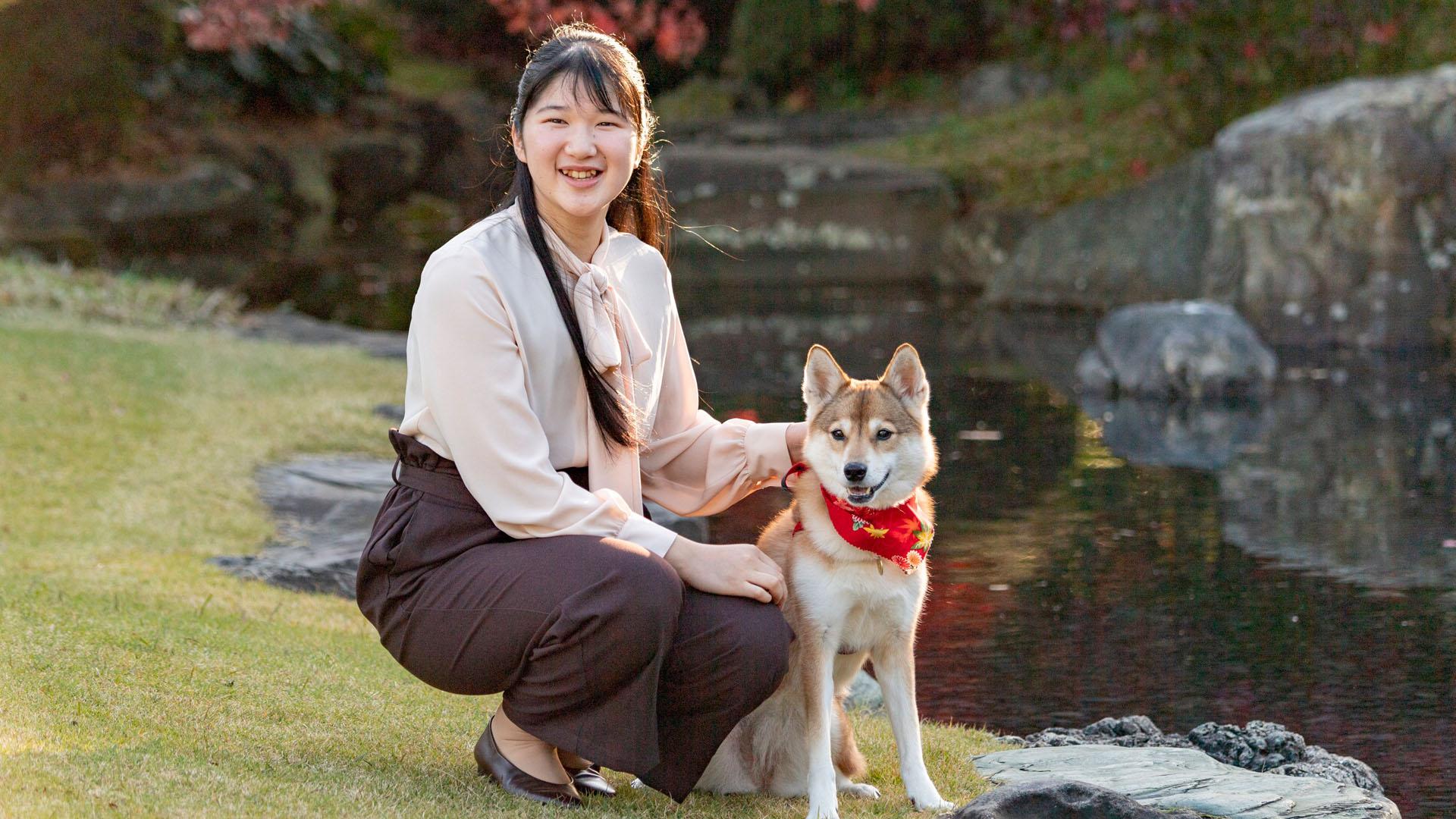 Aranykalitkában él a 19 éves Aiko japán hercegnő