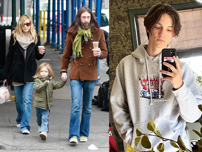 Ryder a szüleivle 2007-ben és napjainkban (Fotók: Getty Images/Instagram-mr.ryderrobinson)