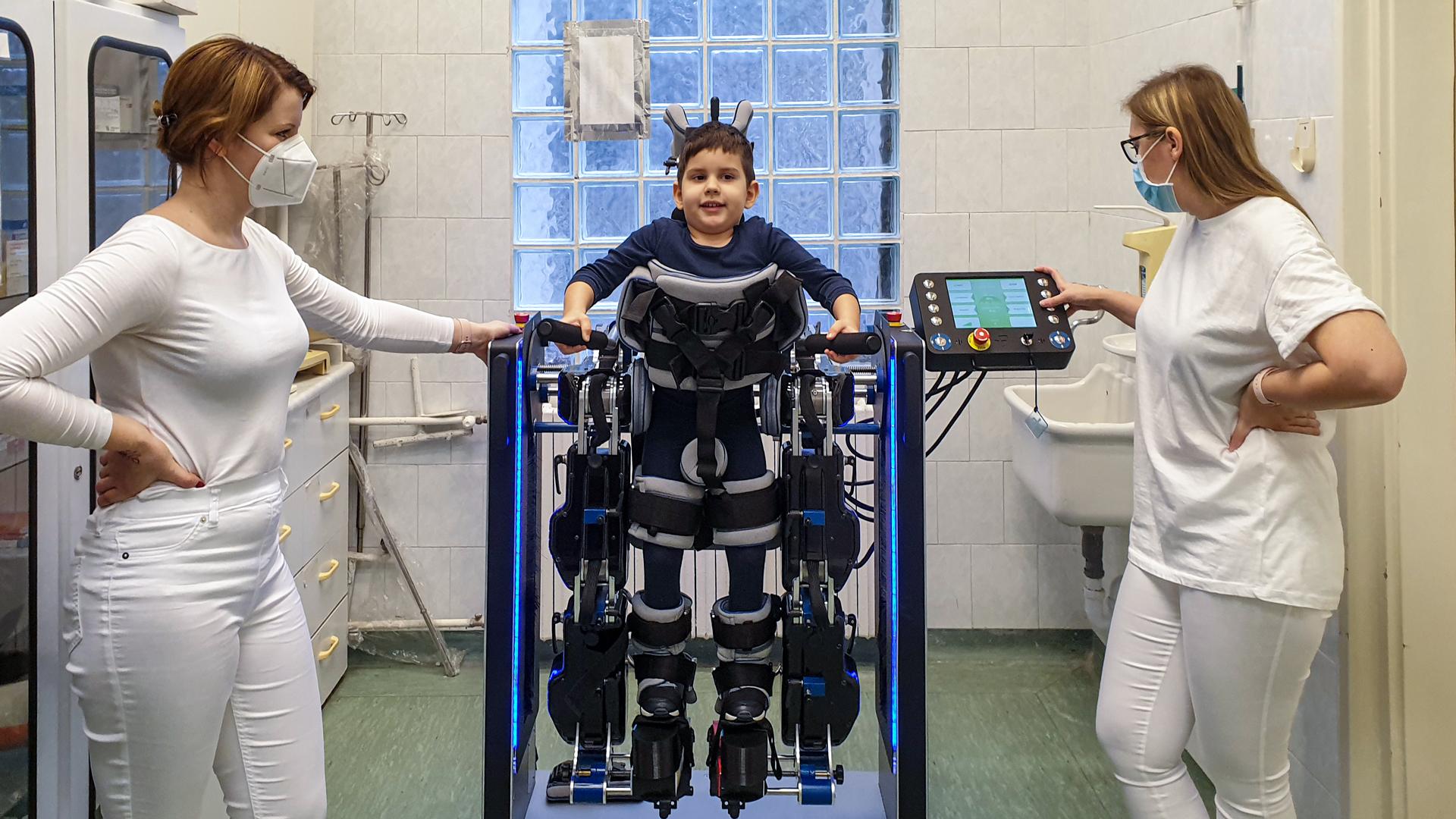 prodrobot, SMA, fejlesztés, Budai Gyermekkórház