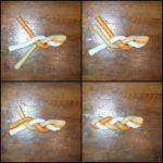 Klasszikus hármas fonatú fonott kalács készítése