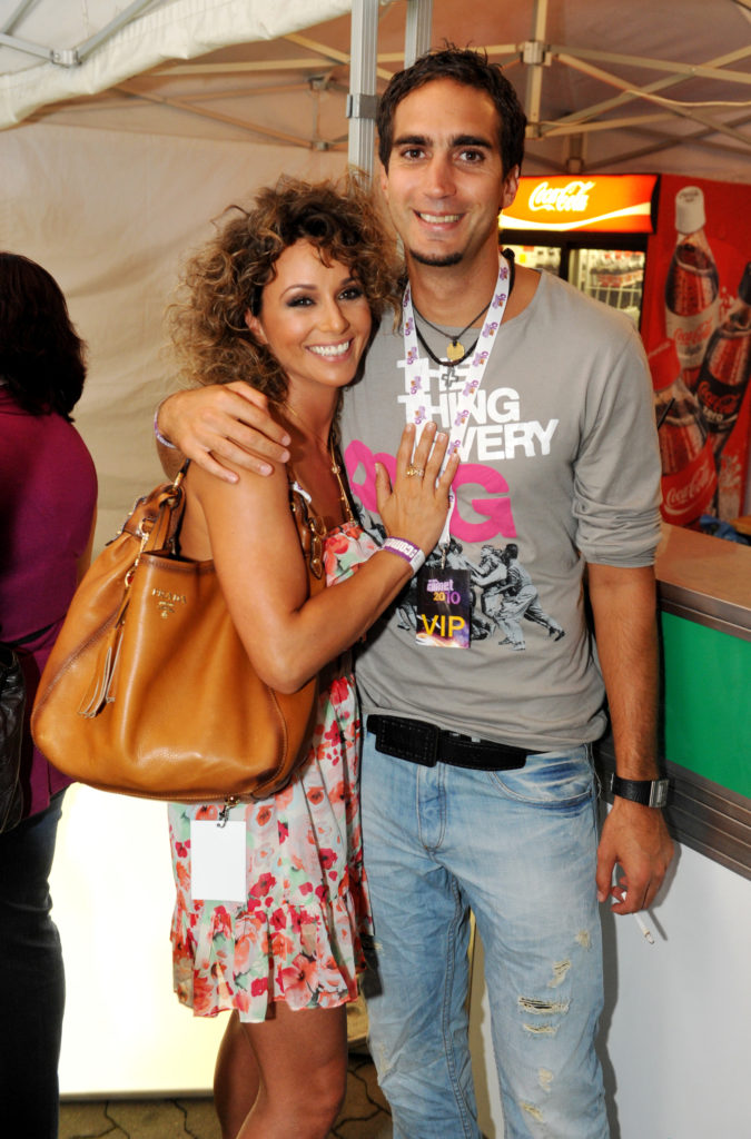 Karsai Zita volt férjével