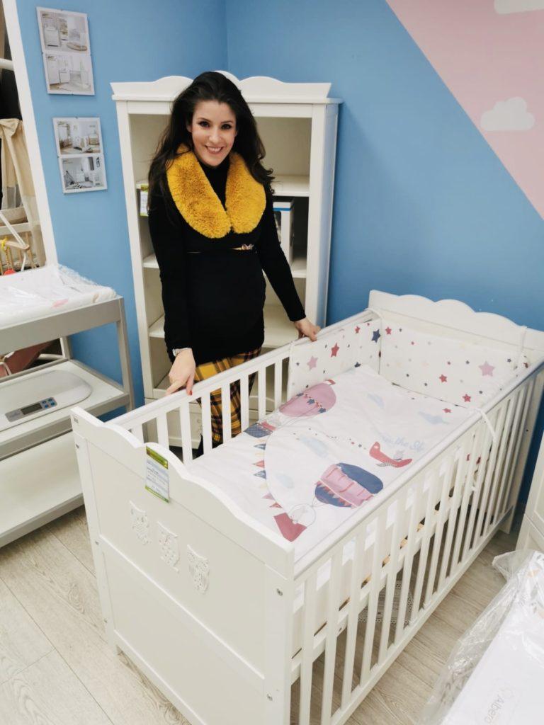 Magony Szilvi fehér bútort választott születendő kisfiának(Fotó: Magony Szilvi)