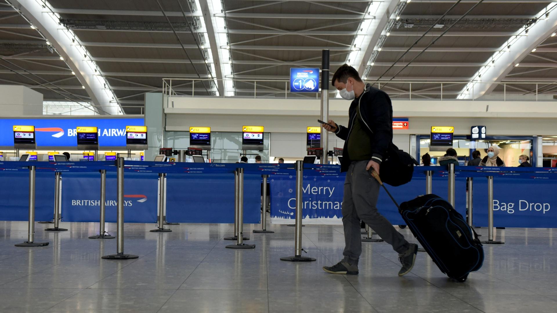 Heathrow repülőtér a járvány idején