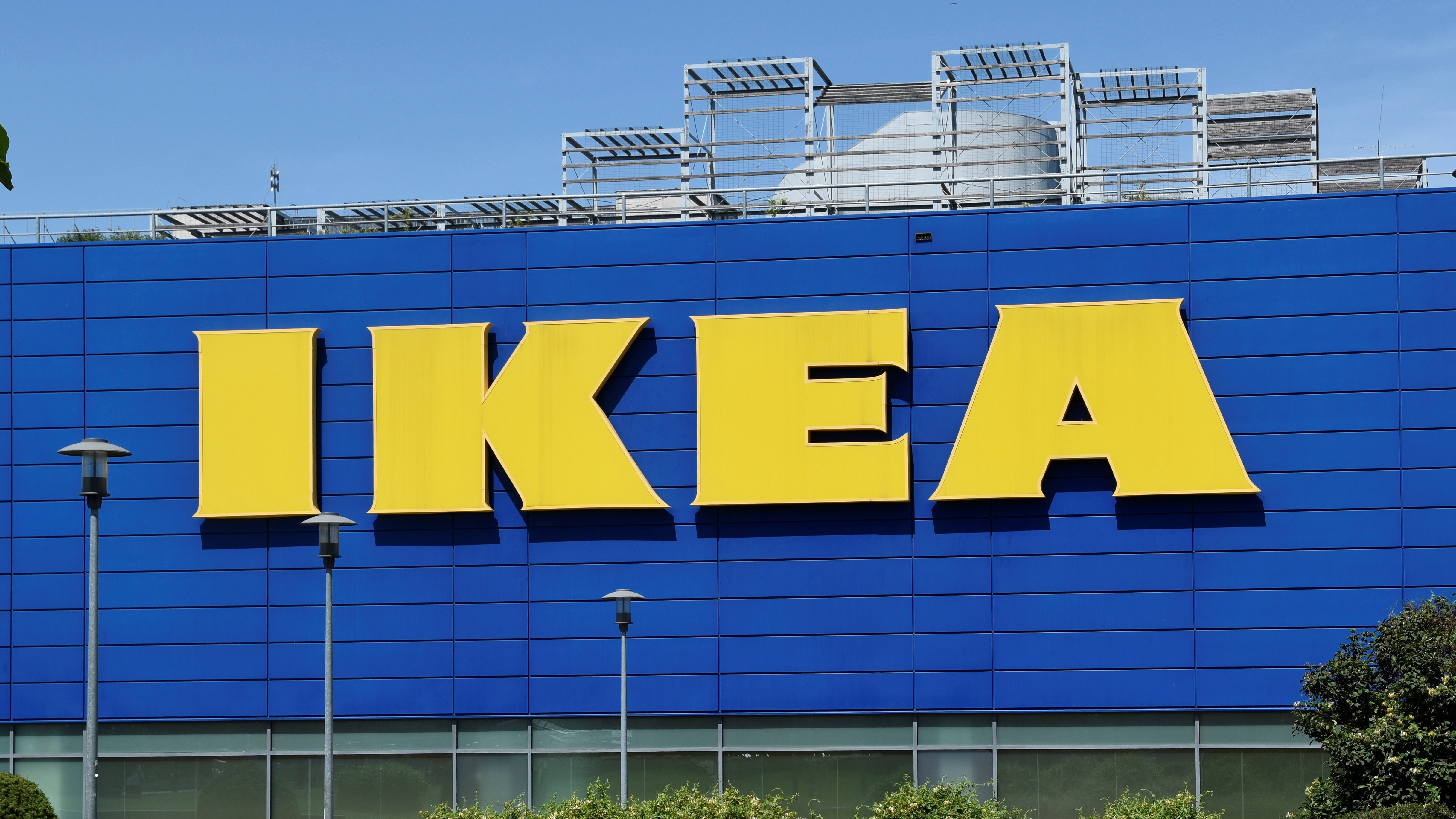 Az IKEA áruház épülete a XIV. kerületi Örs Vezér téren.