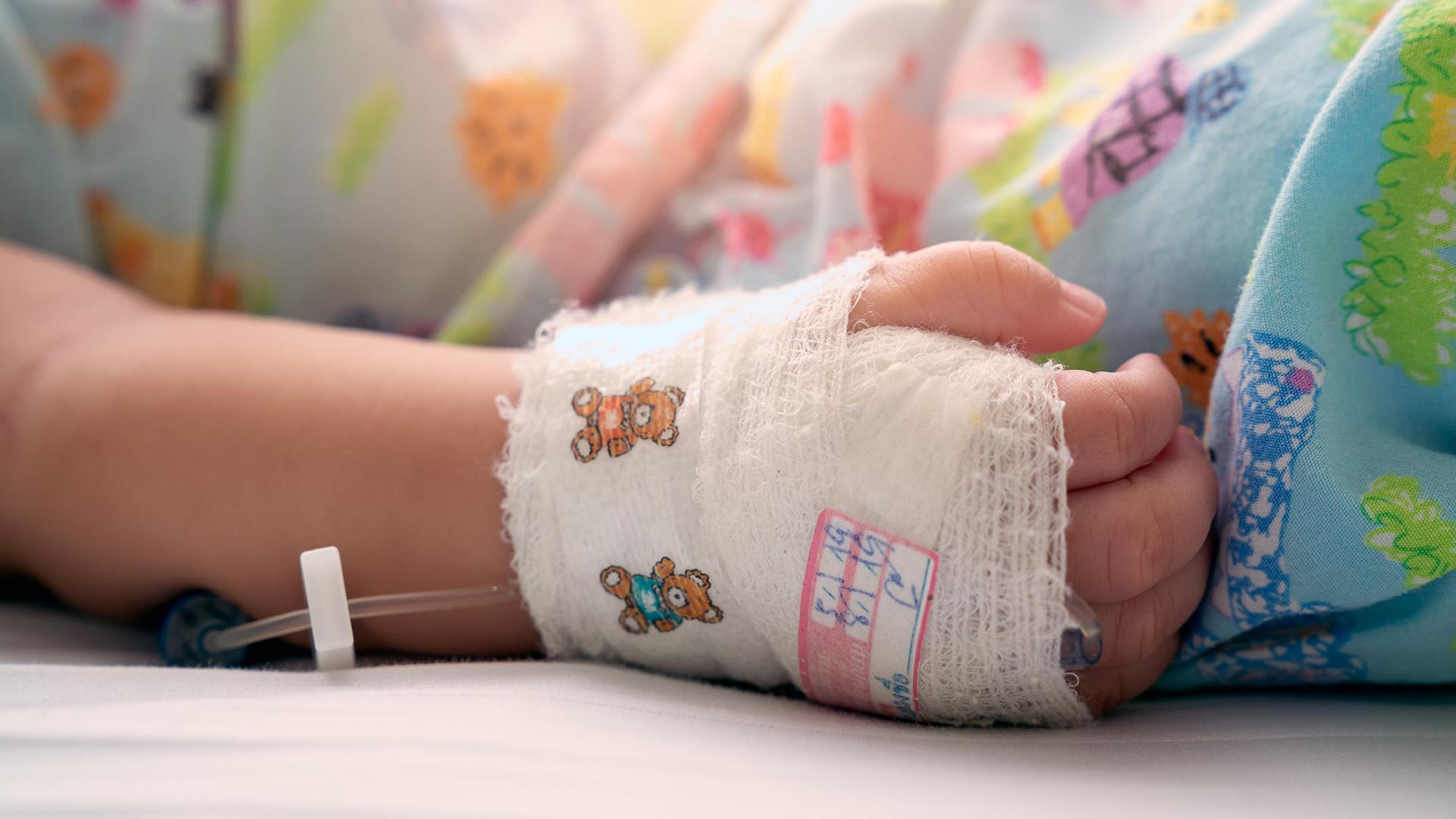 Csecsemő kórházban