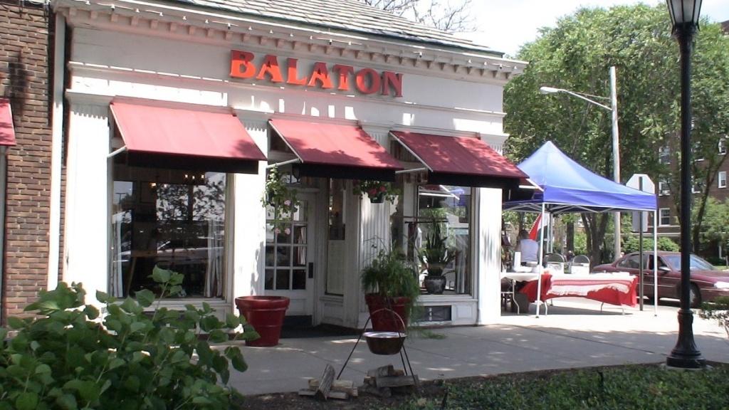 Balaton étterem az Ohio állambeli Clevelandben
